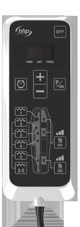 Mando del dispositivo de Andulación Andumedic 3 en sus versiones HOME Y PRO