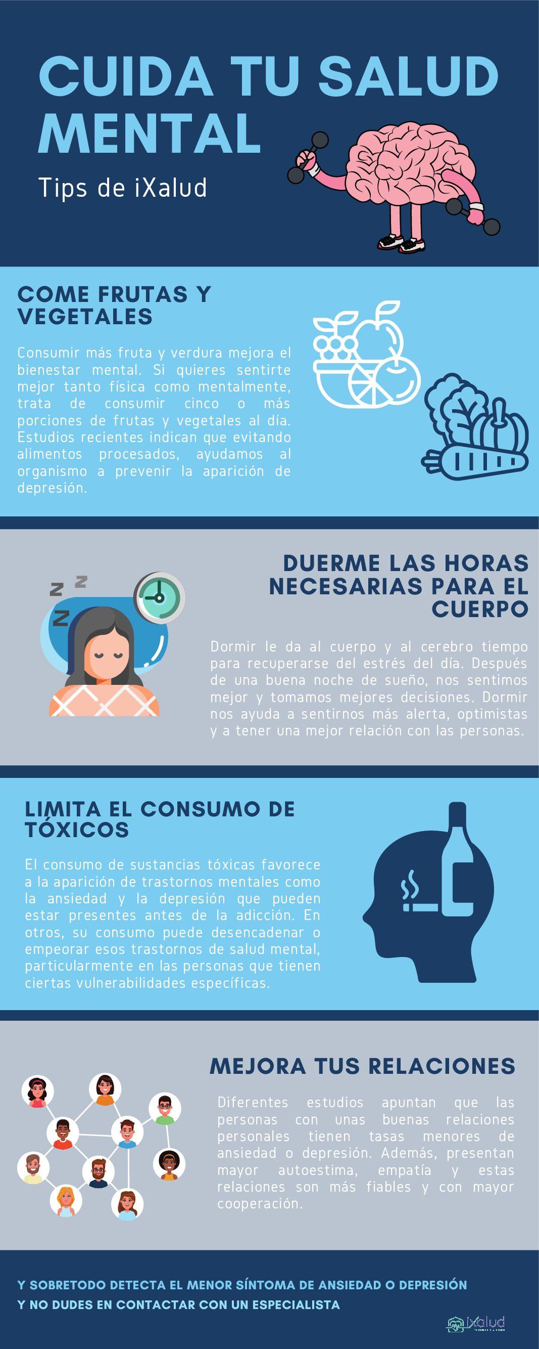 Tips salud mental